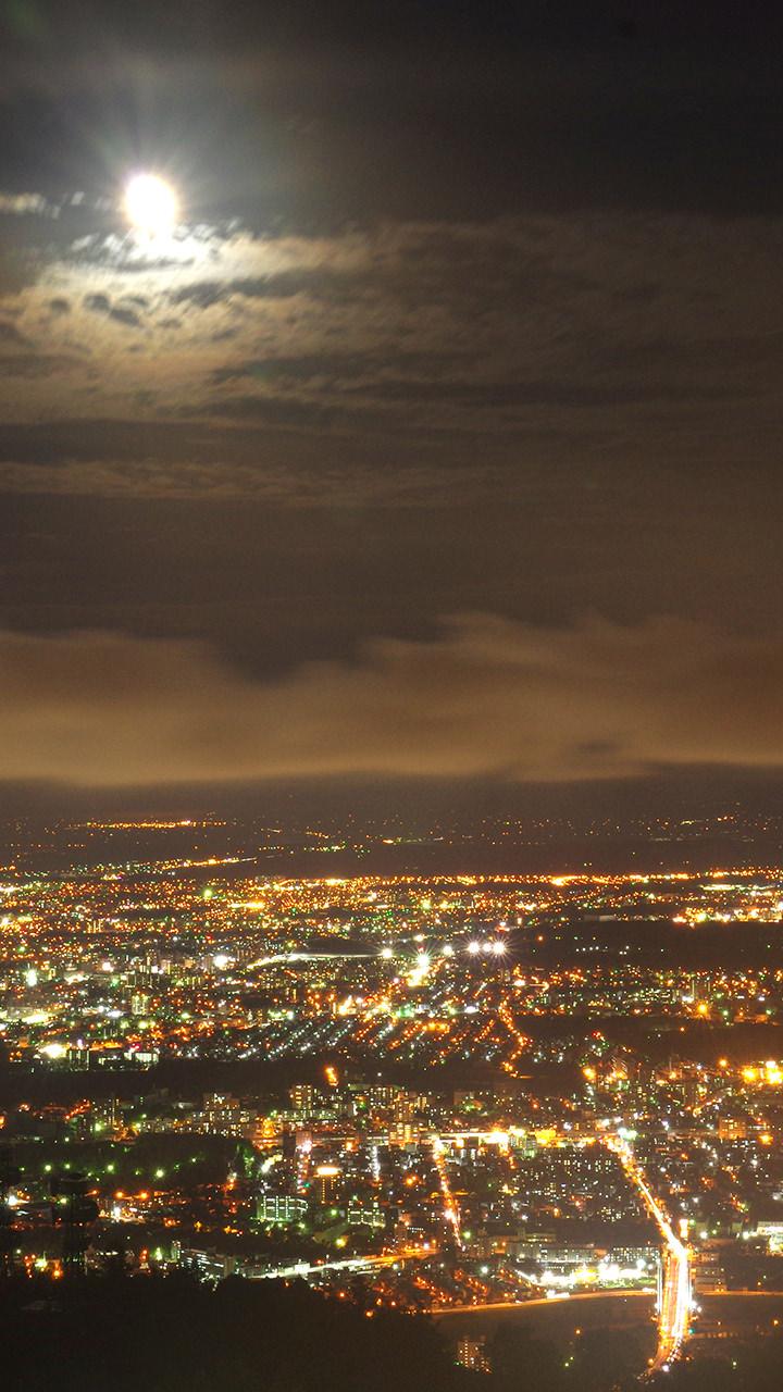 札幌の夜景のiphoneスマホ無料壁紙 待ち受け 2441 フォトック