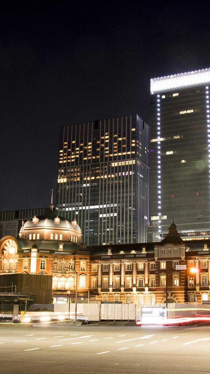 東京駅のiphoneスマホ無料壁紙 待ち受け 3161 フォトック