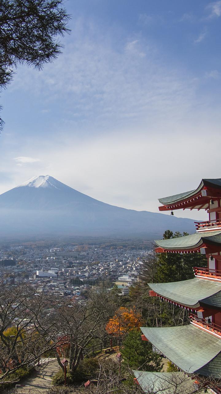 富士山のiphoneスマホ無料壁紙 待ち受け 3525 フォトック