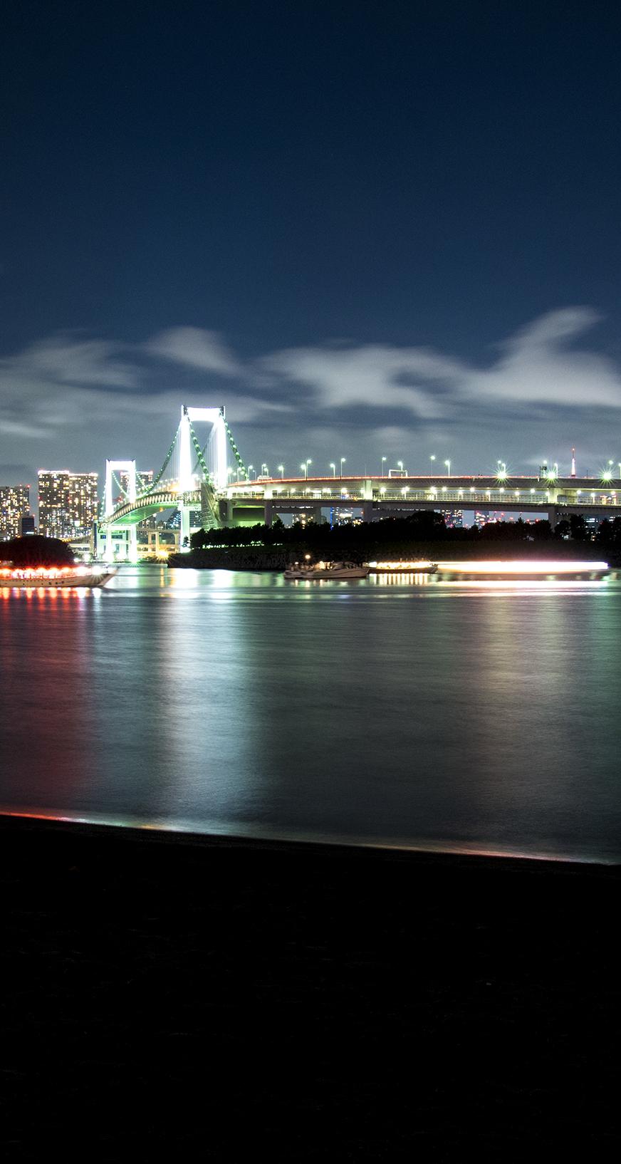 横浜の夜景のiphoneスマホ無料壁紙 待ち受け 1252 フォトック